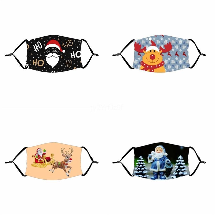 Cartoon Prints Masques visage Mascherine Pliable glace soie Pare-soleil poussière FiltritionAnti Saliva Earloop bouche Masque # 285