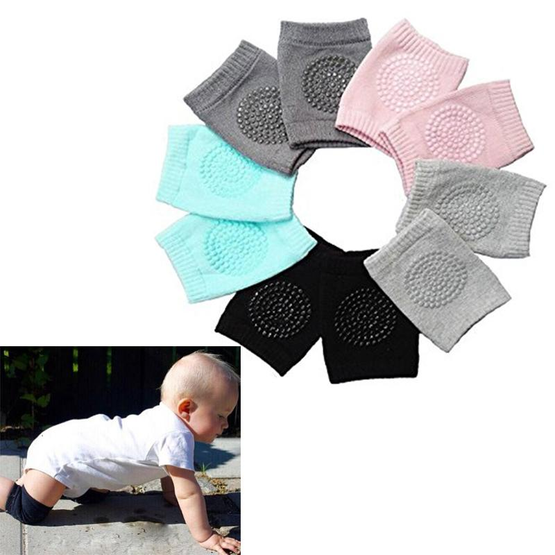 Unisex Toddlers Knee Pad Safety Crawling Elbow Infant Leg Warmer Kneecap Support Anti Slip Protector Baby