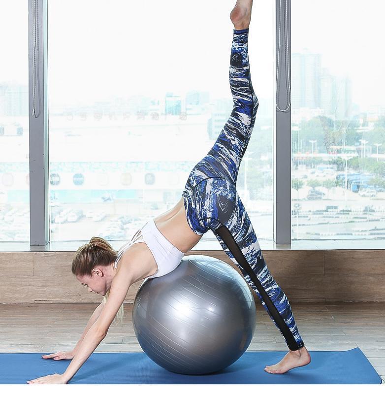 Yoga Leggings Gym Leggings Sport Fitness Hosen Hüften Yoga Pants Schnell trocknend atmungsaktiv