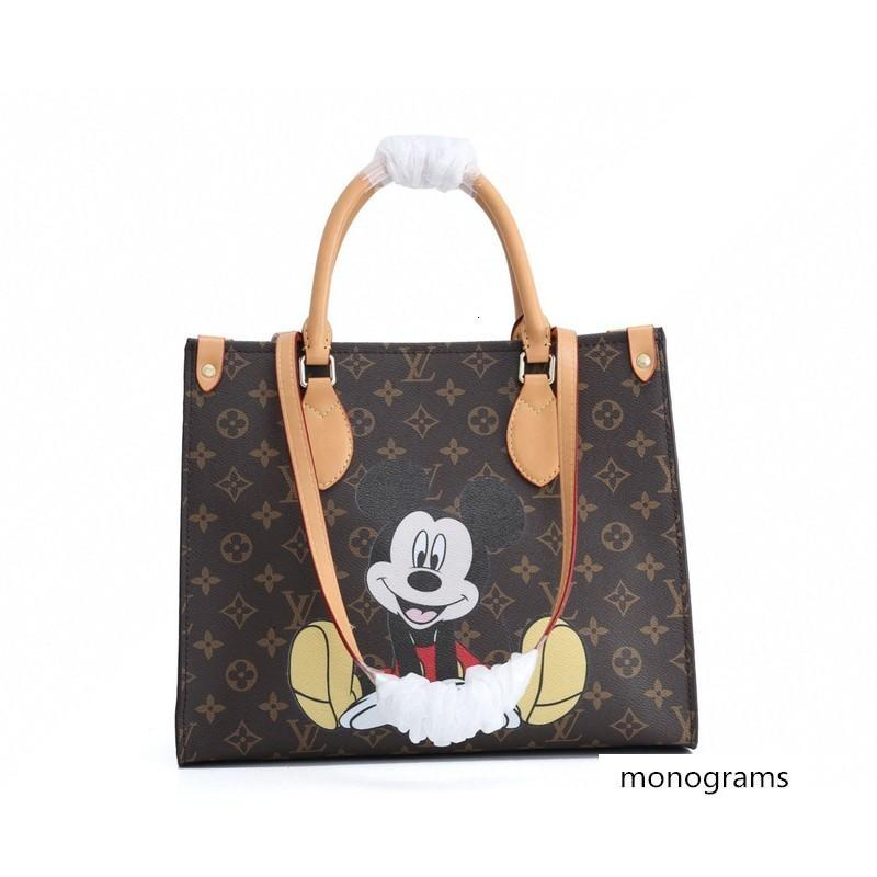 marca M44569 OnTheGo mulheres de couro bolsas de grife de luxo bolsas mensageiro de compra Saco de ombro saco bolsos Totes Cosmetic Bag