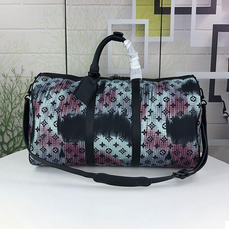 High Grade Mode Reisetaschen Sporttasche Rivet Große Kapazitäts-bewegliche Einkaufs klassische Frauen-Gepäck Beutel Handtasche Totes Typ2
