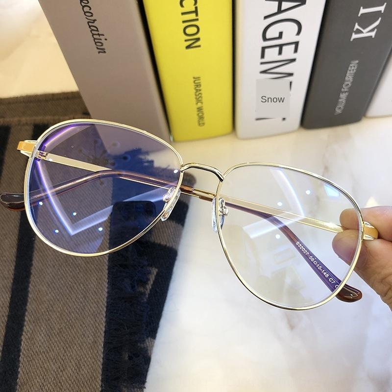 G família grande moldura anti-azul feminina ni ni mesma rodada moldura do rosto liso pode Óculos Óculos ser combinado com grau dos homens miopia
