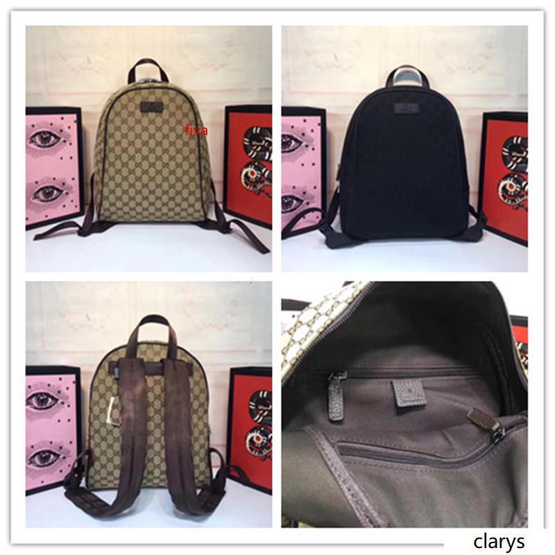 UNISEX 449906 Bej Kahverengi GG Tuval Fermuar Top Sırt Çantası Günü çanta GG tuval deri Bayanlar Erkek boyutu: 30x37x14cm