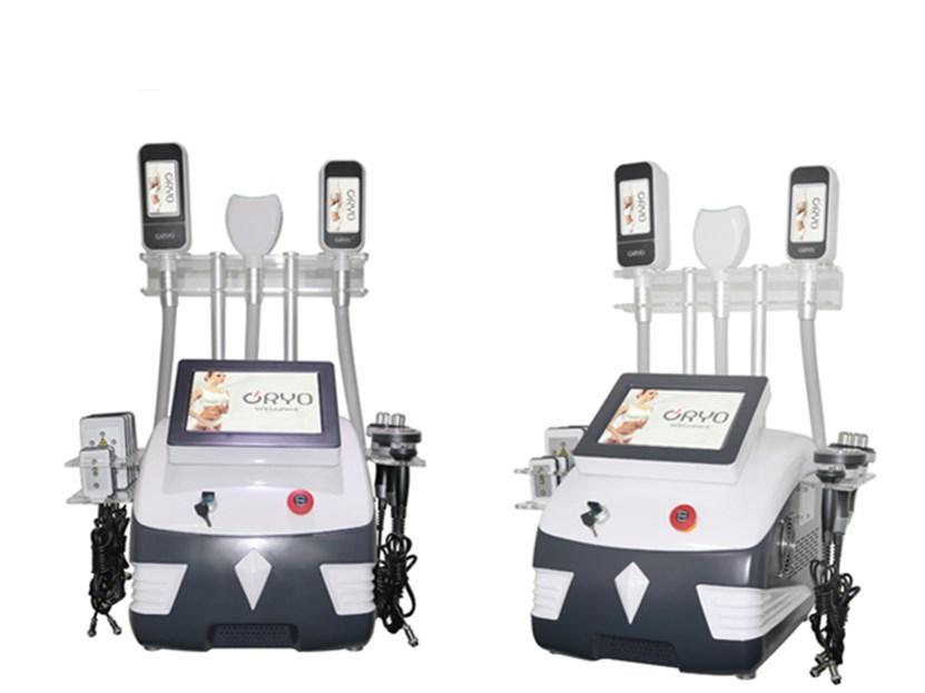 슬리밍 기계 650 ㎚ Lipolaser 공동 현상 RF 기계를 두 번 친 헤드 UPS 냉동 바디 스컬 프팅 한 Cryolipolysis 지방 쿨 다기능
