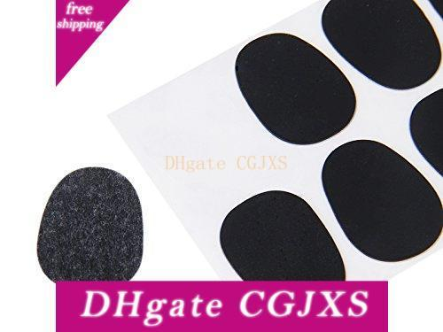 2 PCS of (8pcs Alto/Tenor Saxophone Sax Mouthpiece Patches Pads Cushions Black---0.3mm)