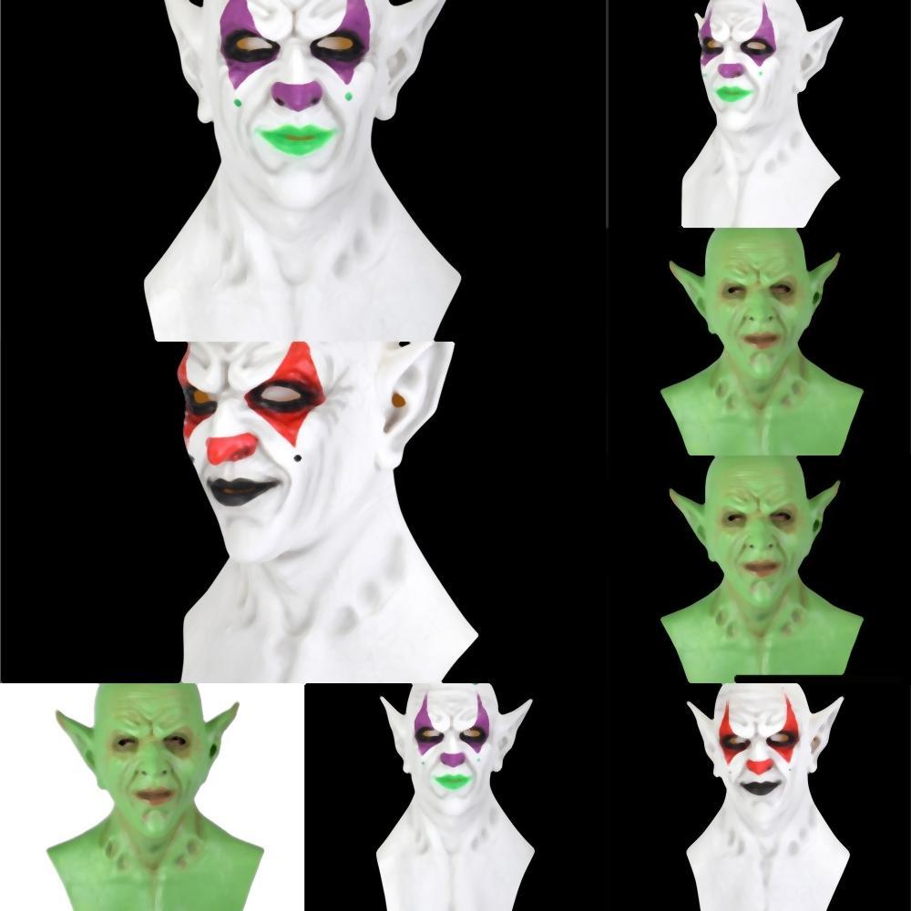 GWso0 Halloween Party Halloween разнообразия Волшебного тюрбан IMP Маска велосипед маска Полотенце Эмульсия езда маска Треугольник капюшон клоун маска EWF