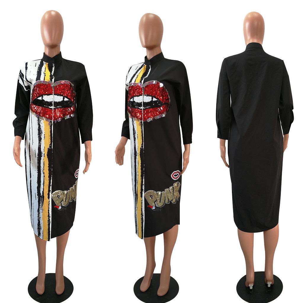 Free shipping 2020 brand new ladies shirts European and American fashion ladiesEN6P
