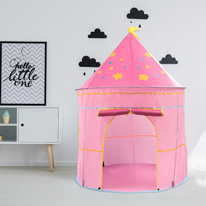Children's tent game house indoor home baby yurt castle toy house girl princess room for baby gifts LJ200923