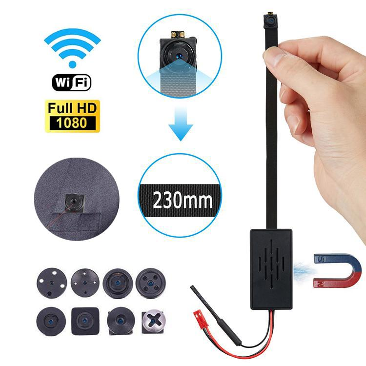 WIFI Network Camera Webcam IP P2P HD 1980*1080P Mini Camera DIY Wireless Cam Module Motion Activated DV Camcorder Small Night vision