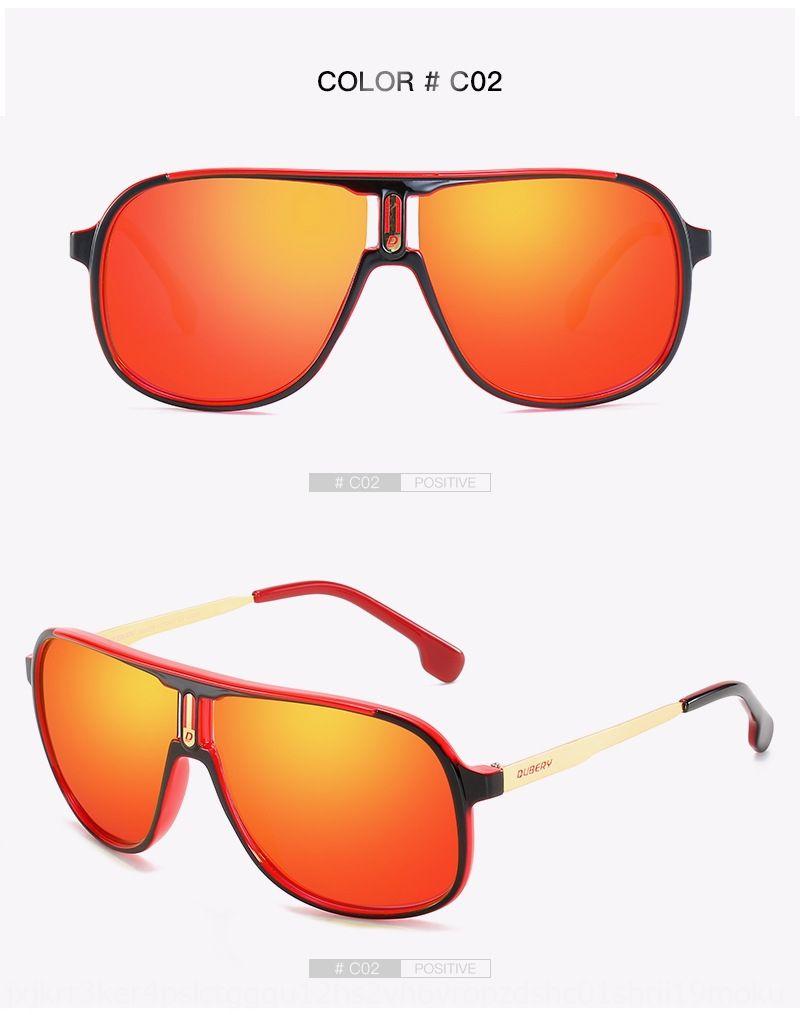 DUBERY107 novos esportes ciclismo caixa polarizada visão noturna ao ar livre para homens Sun óculos de sol óculos de sol bicicleta