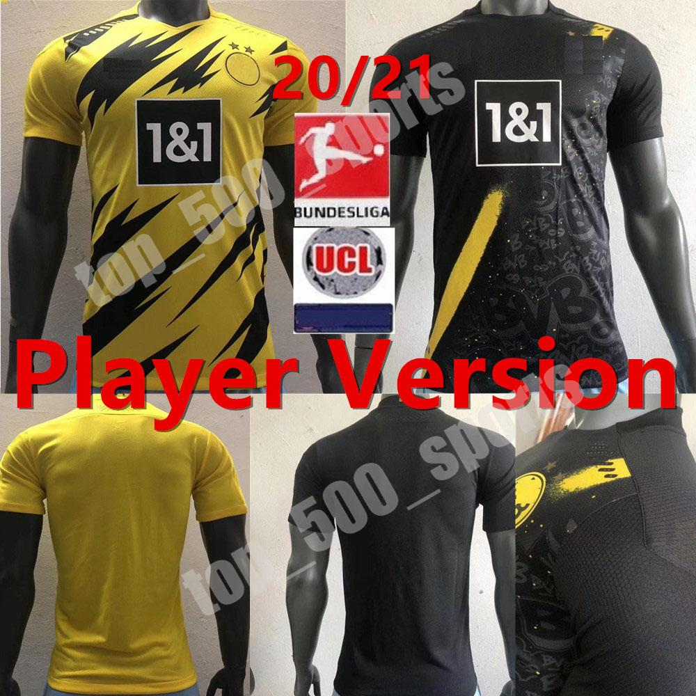 2020 Player Version 20 21 Borussia Dortmund Soccer Jerseys Haaland 2020 2021 Football Tight Compression Shirts Player Sancho Reus Hummels Brandt From Top 500 Sports 14 25 Dhgate Com