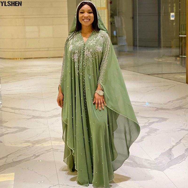 길이 150cm 아프리카 아프리카 드레스 아프리카 드레스 여성을위한 Dashiki 다이아몬드 페르시 전통적인 Boubou 아프리카 옷 abaya 이슬람 드레스