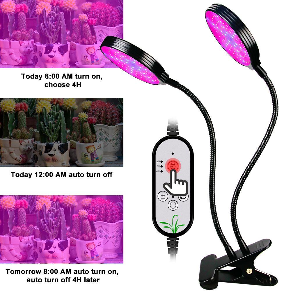 USB 5V Phyto coltiva la luce della lampada a LED completa luce della pianta di spettro crescente lampada Fitolamp Per piantine di fiori Fitolampy Grow Box Tenda