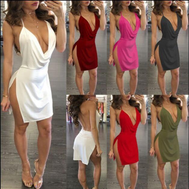 9 색 XS-3XL 여성의 섹시한 붕대 Bodycon 민소매 드레스 이브닝 파티 칵테일 클럽 미니 드레스 54205644978251