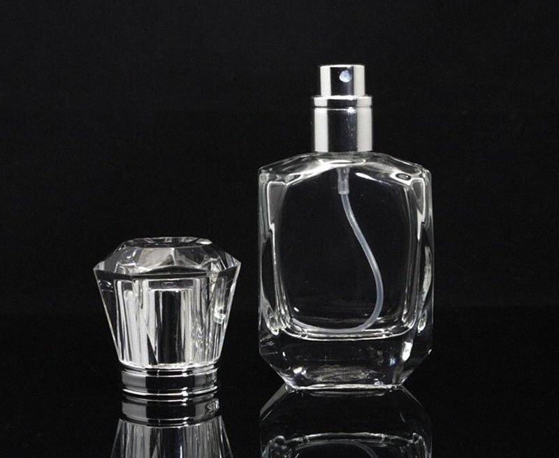 Les plus populaires 30ML Rechargeables Atomiseur de parfum en verre Vaporisateurs Bouteilles vides Voyage cosmétiques contenants Bouteilles de parfum uniques # jtRv Whol