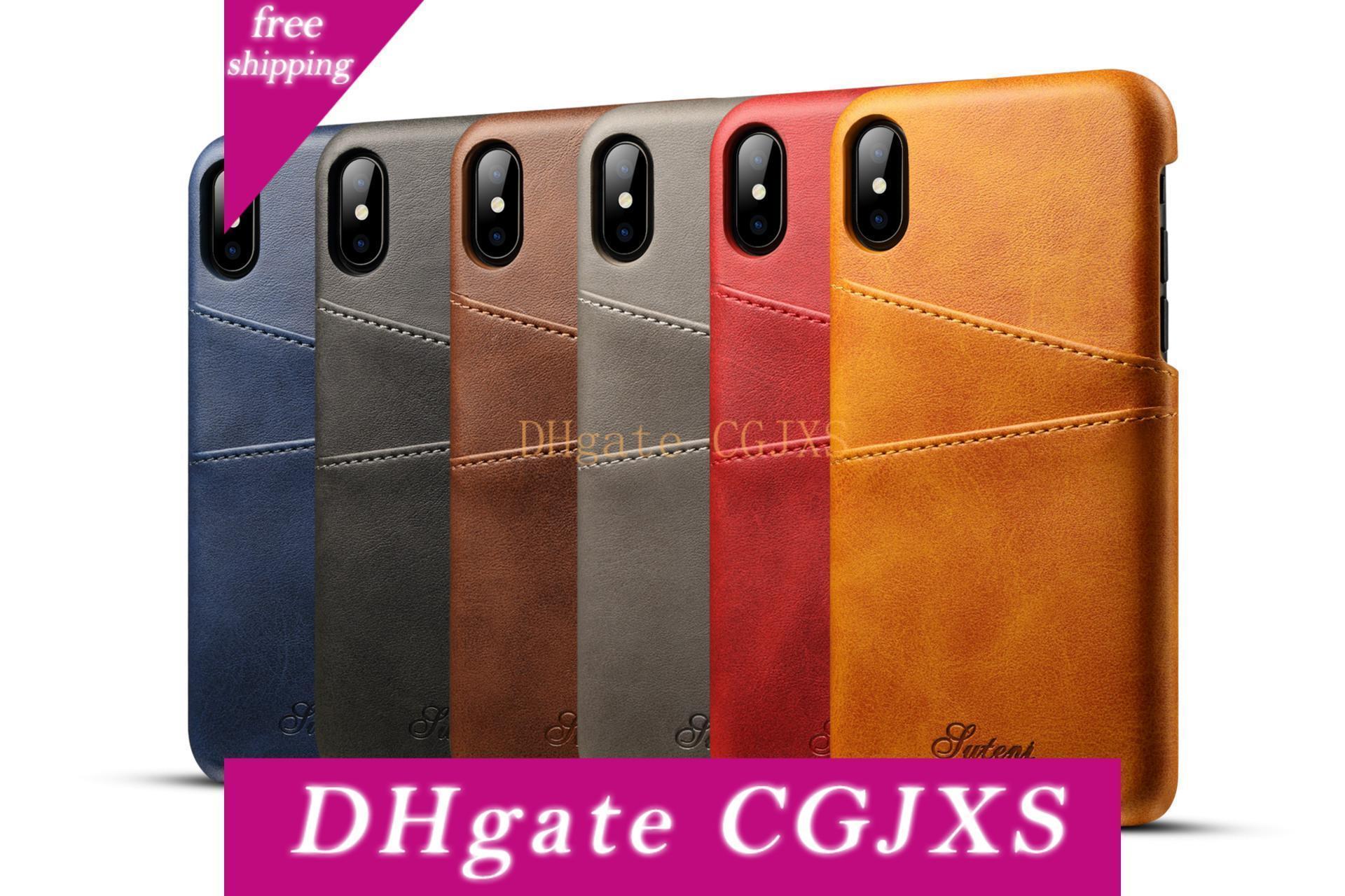Пользовательский логотип чехол для Iphone 8 8 Plus 7 7 Plus кожаный чехол Luxury Wallet Card Slots Назад Капа для Iphone 7 8plus Случаи Fundas