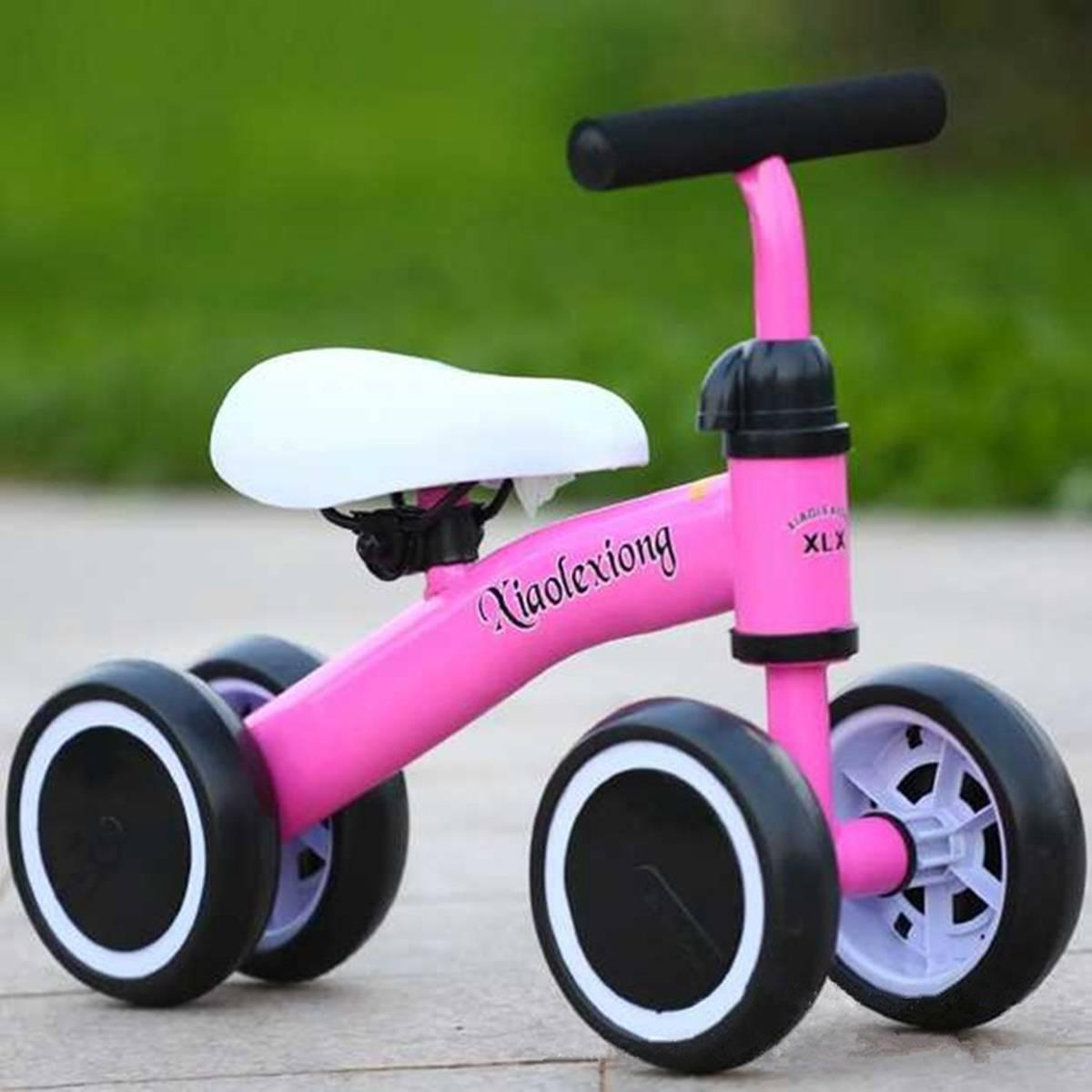 Baby Balance Tricycle Baby Walker Riding Toys for Kids 1-2 Years Child Bike Children's Bicycle Wear Resistant Three Wheel Bike