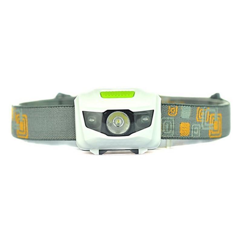 Portable R3 Projecteurs CREE 2 lampe de poche LED Phares 300LM extérieur Phare avec Bandeau Randonnée Camping Torche DHF334