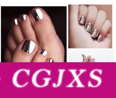 Мода Sexy New Metallics ногтей Зеркало Лак для ногтей