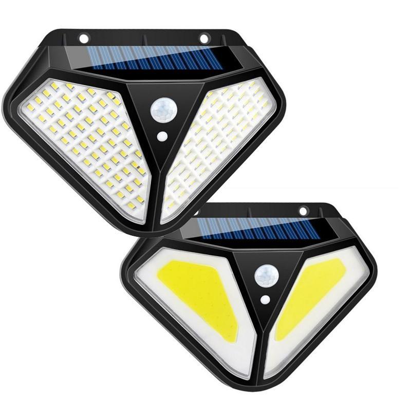 2020New Solarbewegungs-Sensor-Wand-Licht im Freien wasserdichten Yard Sicherheits-Lampe LED-Solarlicht für Outdoor Garden Street Patio
