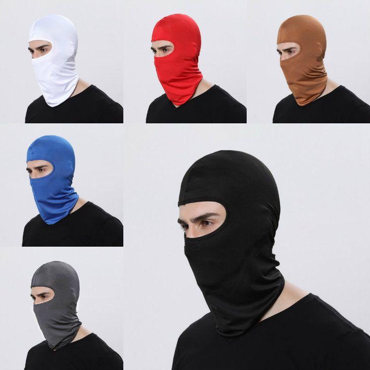 HOT 17 Cor Outdoor máscara pescoço esportes de esqui capa exterior andar de moto à prova de vento solar à prova de poeira Máscara facial tampa da cabeça T50067