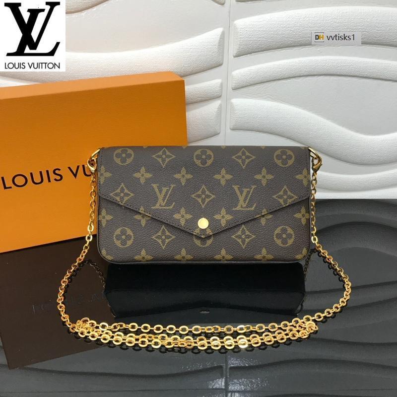 vvtisks1 CXLF N63106 (476F) Women HANDBAGS ICONIC BAGS TOP HANDLES SHOULDER BAGS TOTES CROSS BODY BAG CLUTCHES EVENING