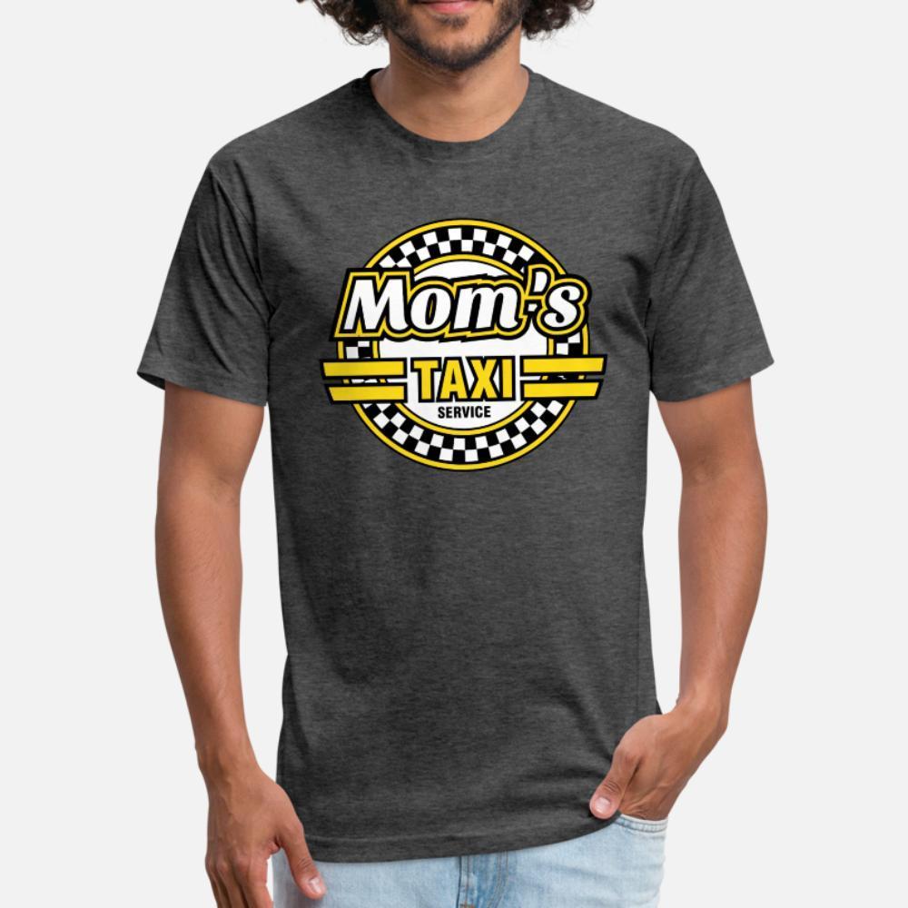 Mom Das Taxi-Service T-Shirt Männer-Charakter Baumwolle Euro-Größe S-3XL Formal Sonnenlicht Gebäude Sommer-Art-Neuheit-Shirt