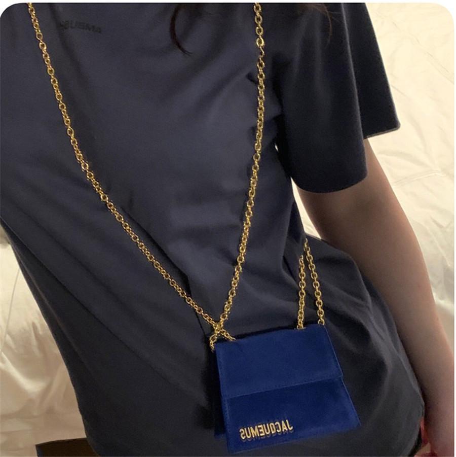 귀여운 수염 소매 용 지주 봉투 가방 리벳 다기능 핸드백 어깨 체인 # 190