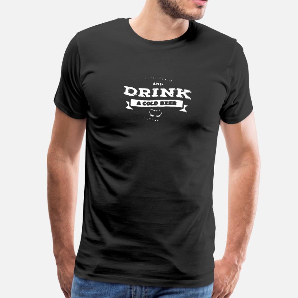 Холодная тенниска Мужчины Custom 100% хлопок Crew Neck Оригинальный Anti-Wrinkle дышащий весна осень Family рубашка