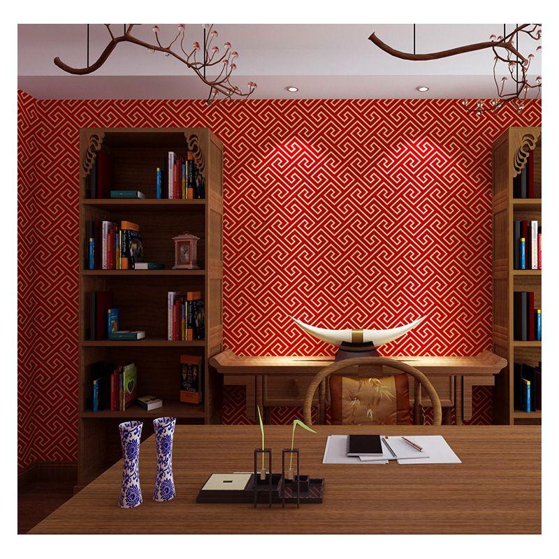 NewChinese Estilo Wallpaper Backprint Classical Zen Chinese Style Restaurant Sala nuvem auspicioso TV papel de parede