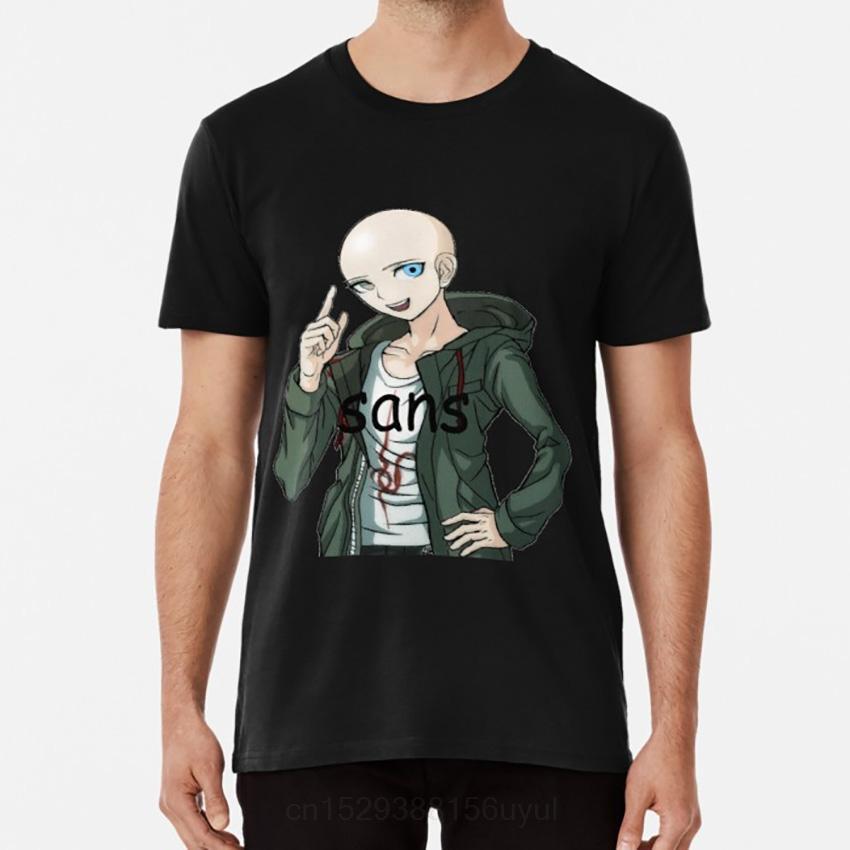 Sans Komaeda T-shirt Danganronpa Undertale Komaeda Sans