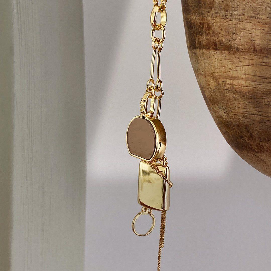 18k colar de ouro para unisex moda charme colar de produto quente colar superior jóias tendências de tendência atacado