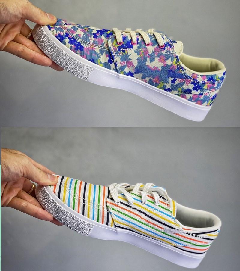 Alta calidad ayuna Entregado retro todas las mujeres zapatos del patín de los partidos SB Dunk zoom Janoski CNVS RM PRM Dunk SB Hombres diseñadores zapatillas de deporte