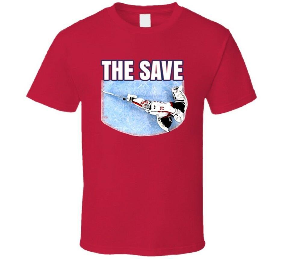 Kaydet Braden Holtby Washington Hokeyi Stanley Cup Kaleci Fan T gömlek tişört Streetwear Spor Hip-Hop İstasyonları