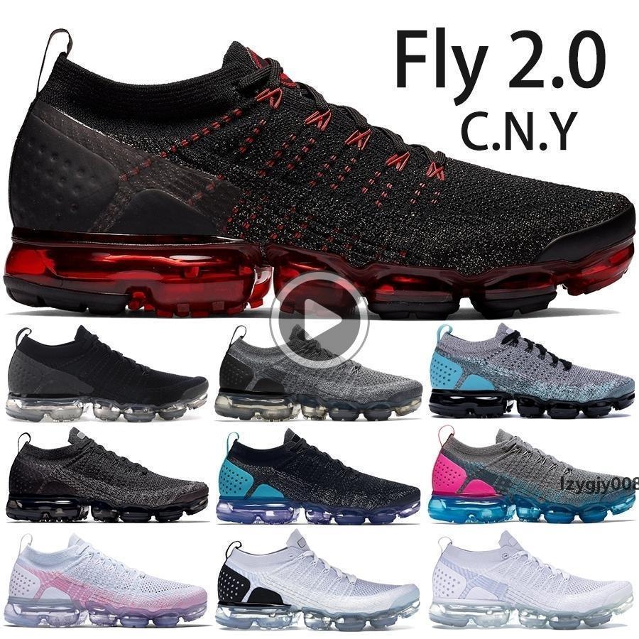 Best Quality Random Yarn Knit 2.0 Sneakers Mens Womens Black White Dusty Cactus Hyper Jade Black Hot Punch Designer Shoes Size5.5-11 AGV0