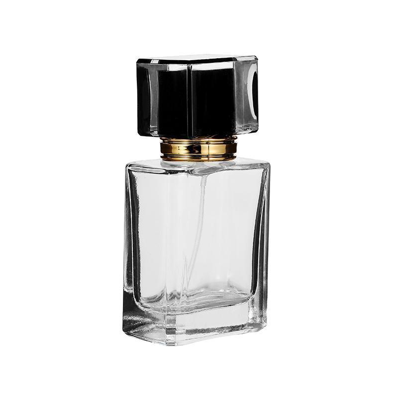 Vidro Automizer Esvaziar recipiente cosmético 50ml / 30ml Para Ynzzio Limpar Refill vidro Spray de perfume recarregáveis garrafas de viagens aERQg