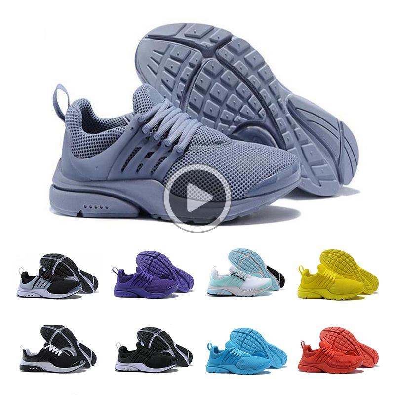 New Presto 5 BR QS Homens sapatilha das mulheres Tripel preto branco vermelho Running Shoes mens treinador esportes sapato Jogging atlético sapatos tamanho 8KCB