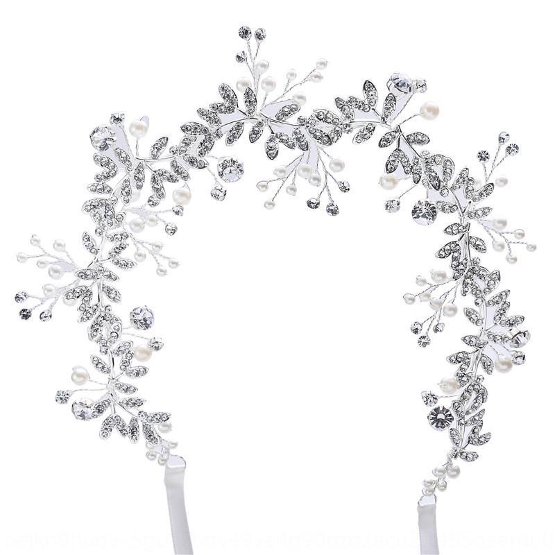 kAckr D258 o bellezza sposa nozze gioielli accessori da sposa in lega di diamante dei capelli fascia copricapo bellezza copricapo damigella d'onore fascia per capelli
