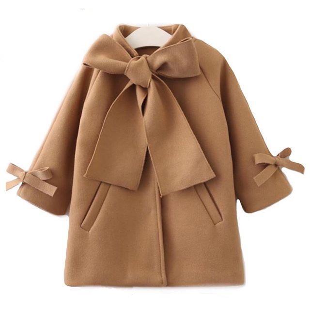 Bambine cappotti in cotone cinghie invernali eleganti moda outwear autunno tasche frontali per bambini ragazzi gilrs cappotto per 1-6T
