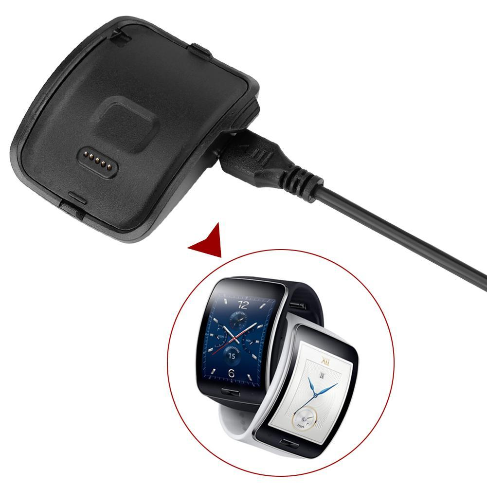 cgjxs New Charger Dock Station For For Samsung Gear S R750 Smart Watch Charger Desktop Usb Charging Cable For Samsung Free Shipping