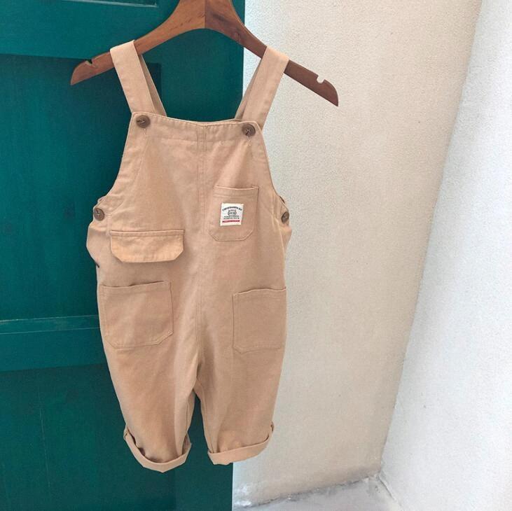 2020 2020 meninas novas dos meninos macacões outono do algodão de moda infantil Pants 1 7t QW109 a6c8 #