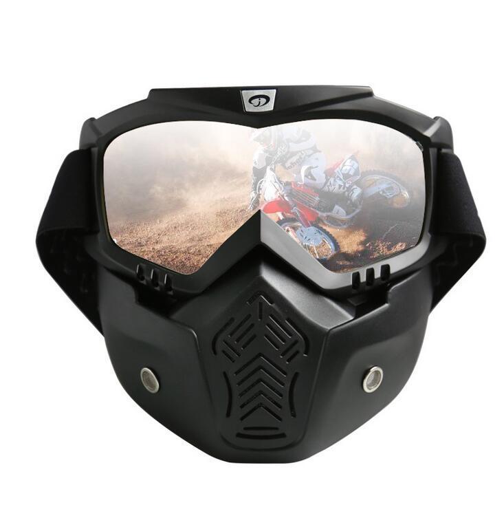 Deportes de Invierno Esquí de montaña Máscara esquí alpino snowboard gafas de esquí de Google Mascarilla de la motocicleta del motocrós de la bici gafas de nieve del patín # 9