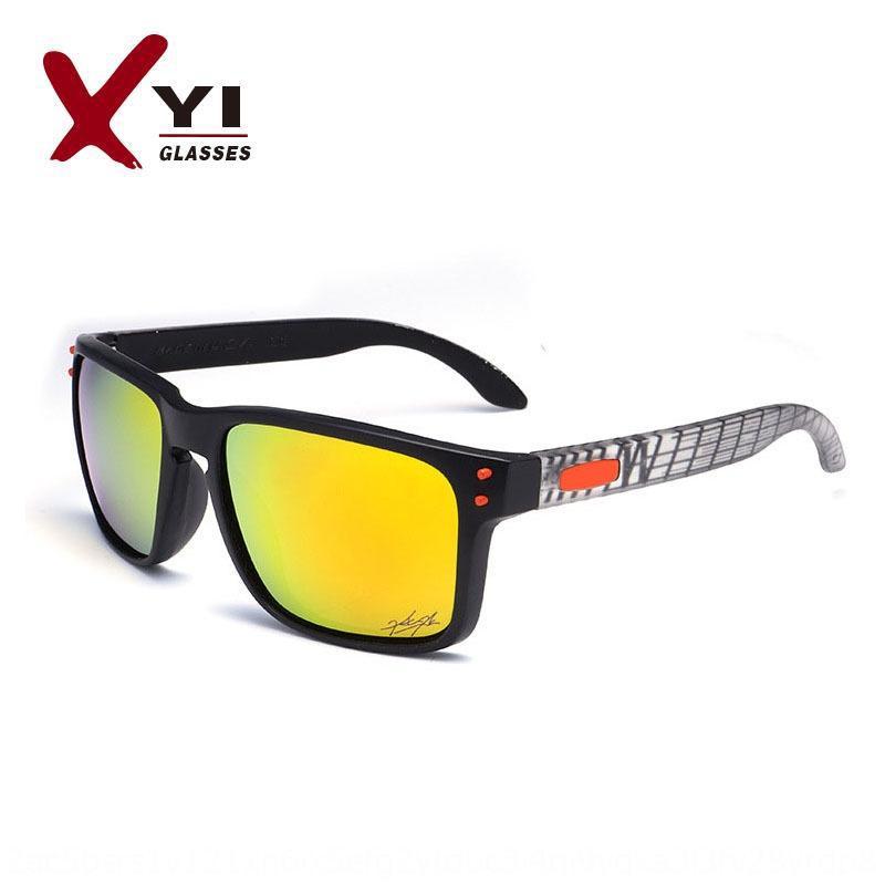 P9102 polarizado sol sol gafas de sol de los deportes al aire libre montar Oak gafas VR46 firma CxeSq