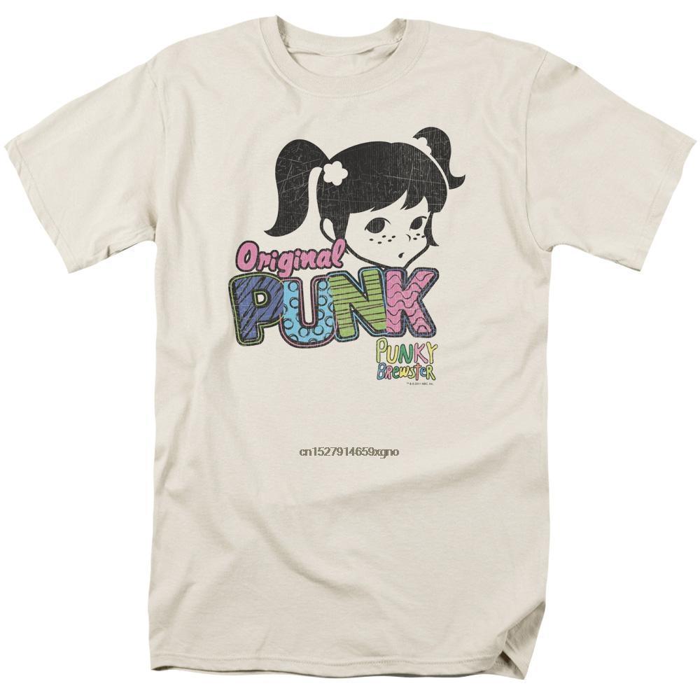 camiseta Fit T-Shirtwomen regular 2.019 Homens Impresso camiseta manga curta Punky Brewster Punk Gear Homens