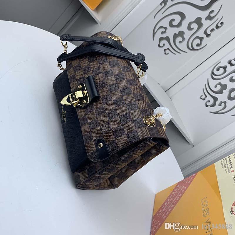 Melhores homens e mulheres que vendem bolsa de grife de luxo bolsa de ombro moda maleta designer de cadeia de bolsa de ombro bolsa 40109-6 L1 L1