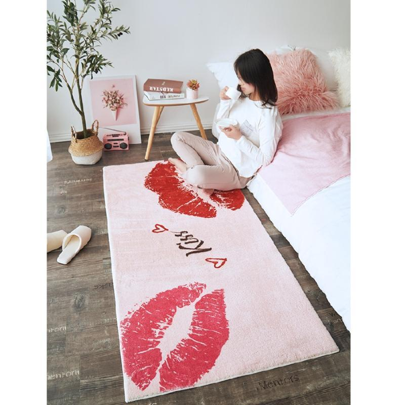 Carpets Modern Simplicity Carpet Bedroom Ins Living Room Coffee Table Mat Bedside Anti-slip Strong Absorbent