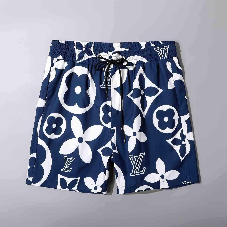 la moda dei nuovi uomini di costumi da bagno FF pantaloncini asciugatura rapida abbigliamento moda mare estate pantaloncini maglietta bermuda casuali cotone casuale