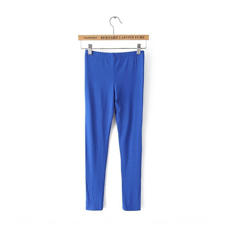 2020 yeni kadın modal tozluk katı sıkı Yoga sıkı renk tozluk ayak bileği uzunlukta pantolon yoga pantolonları özel fiyat