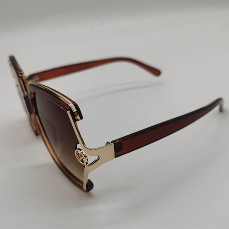moda grande moldura óculos casuais quadro acessórios de metal novos acessórios de moda óculos de sol das mulheres