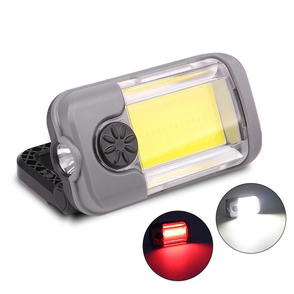 Inspeção Camping Lanterna XPG impermeável Luz de trabalho Ultravioleta + COB LED 400LM Outdoor Easy Light Transportar Flashlight